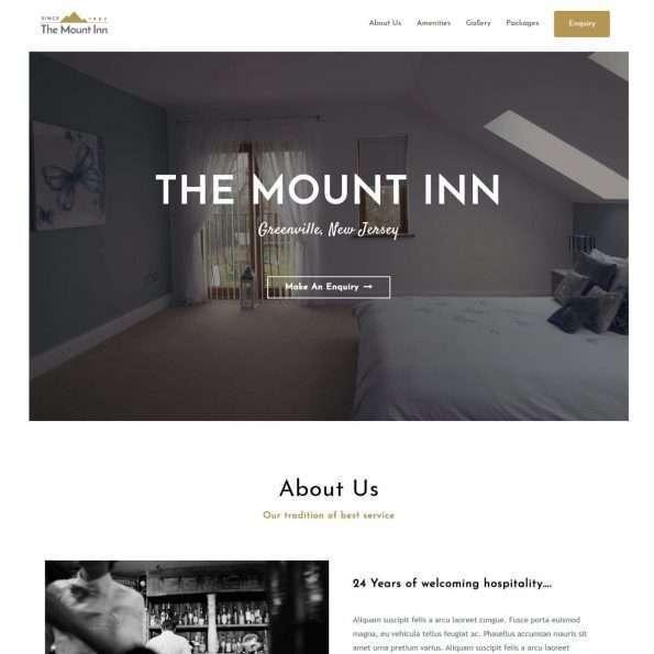 Template Web Hotel BnB