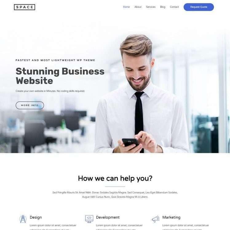 Template Web Digital Agency