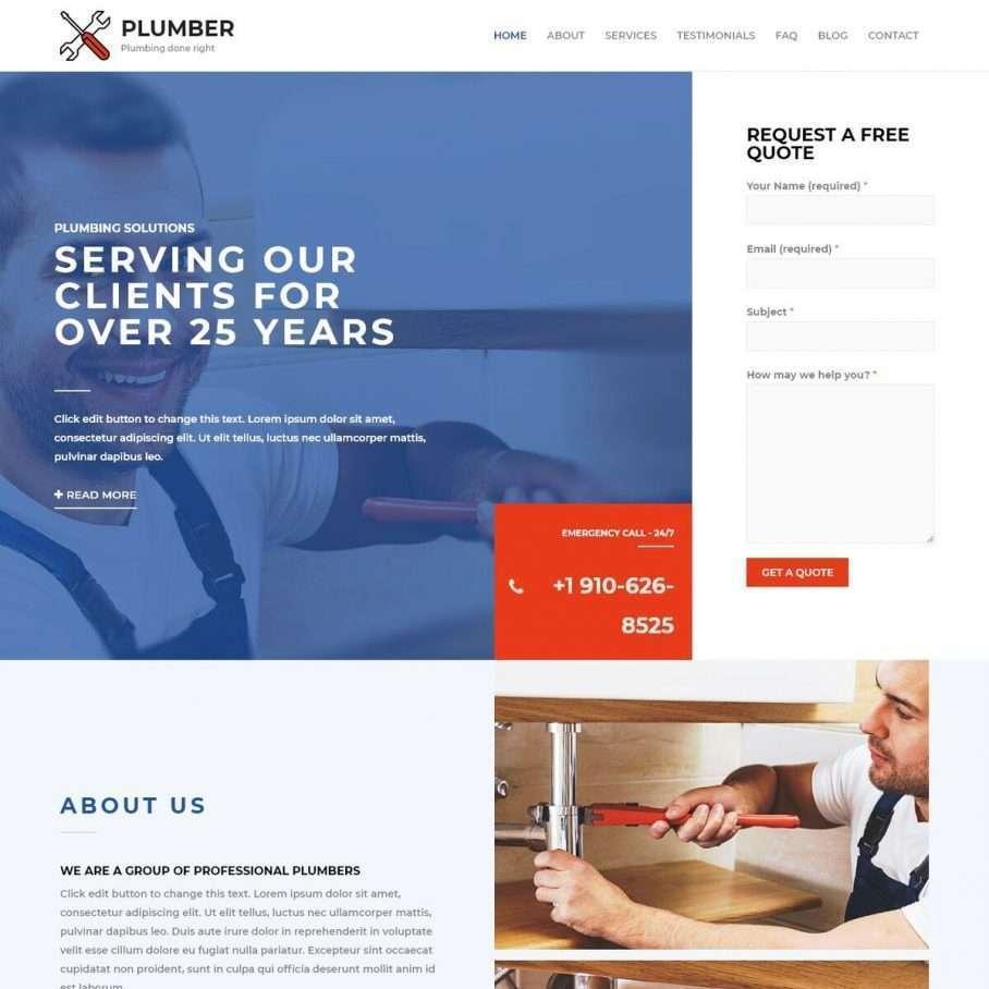 Template Web Plumber