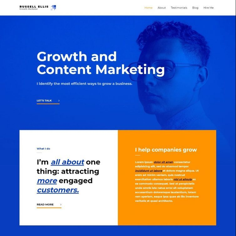 Template Web Growth Marketer