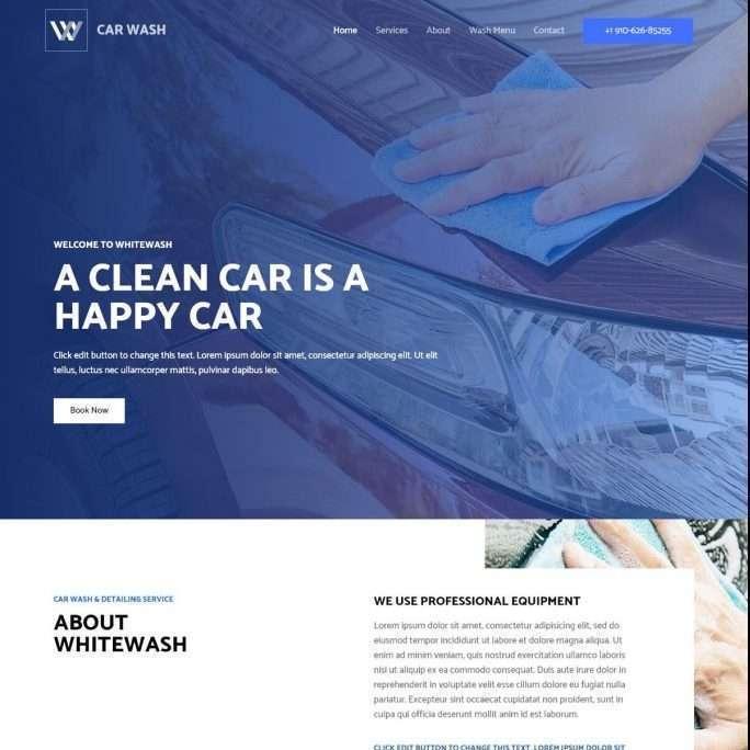 Template Web Car Wash