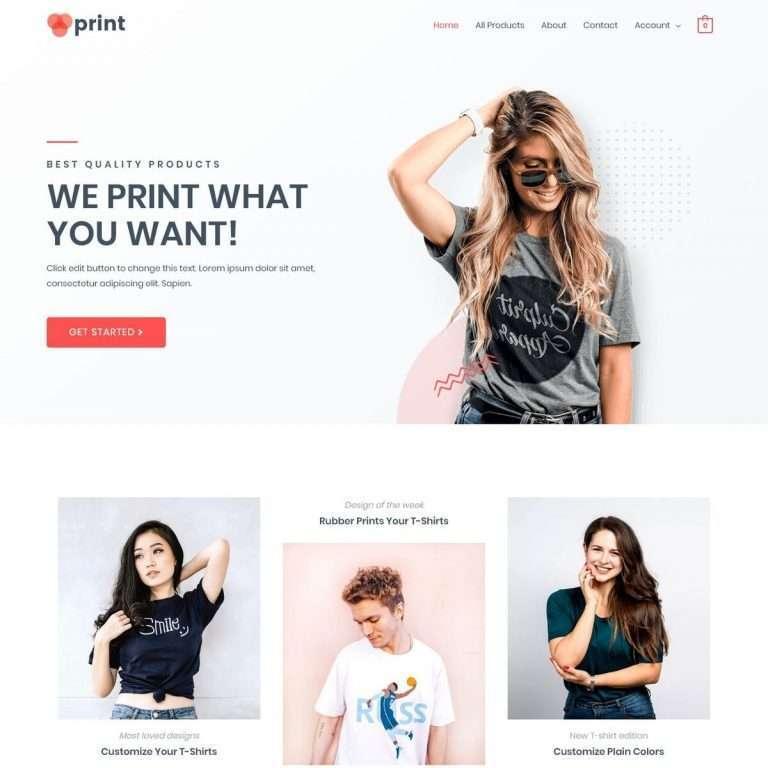 Template Web Custom Printing