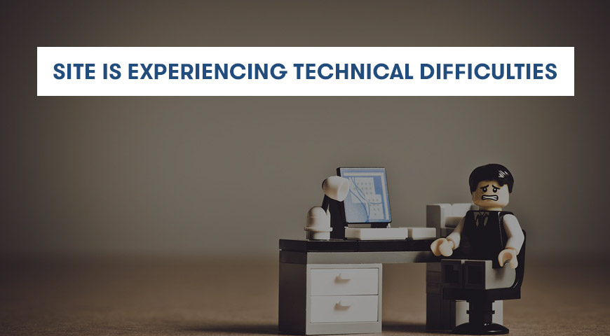 "Cara Mengatasi Error ""The Site Is Experiencing Technical Difficulties"""